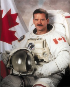 chris hadfield spacewalk
