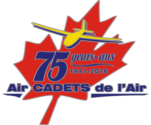 Air Cadet 75th anniversary logo