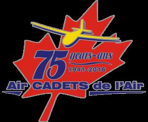 Air Cadet 75th anniversary logo